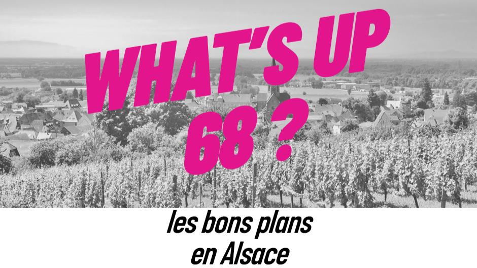 WHAT'S UP 68 : L'AGENDA DU 14 AVRIL
