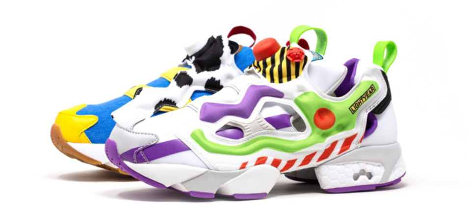 Reebok sort une superbe collection Toy Story 4 ! (Photos)