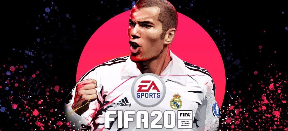 FIFA 20 : Zidane sera sur la pochette du jeu !