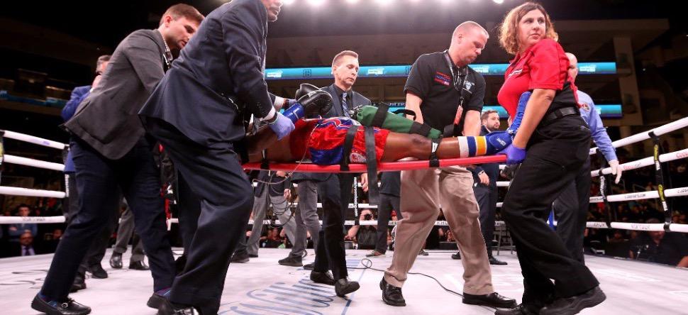 Le boxeur Patrick Day dans le coma après un violent KO