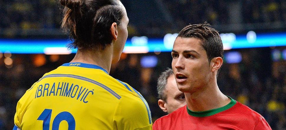 Zlatan Ibrahomovic s'en prend à Cristiano Ronaldo !