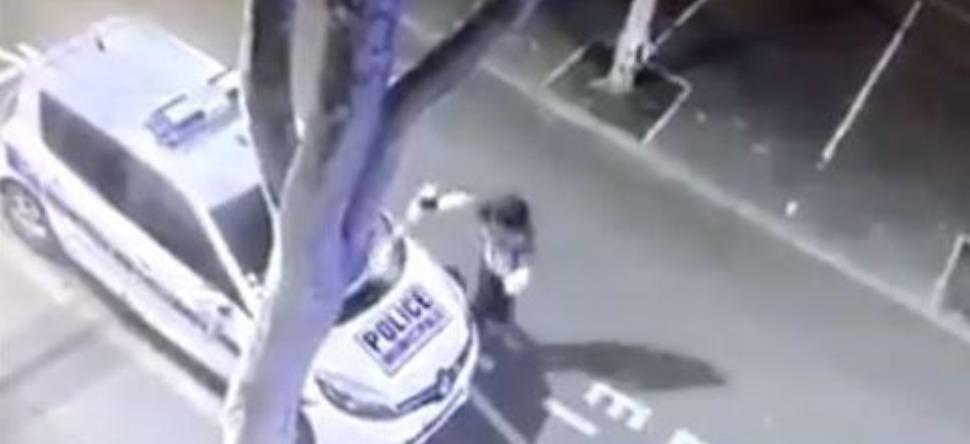 Colombes : il incendie une voiture et prend feu avec [VIDEO]