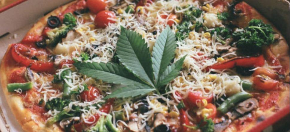 Pizza au cannabis : la pizza qui fait un tabac !